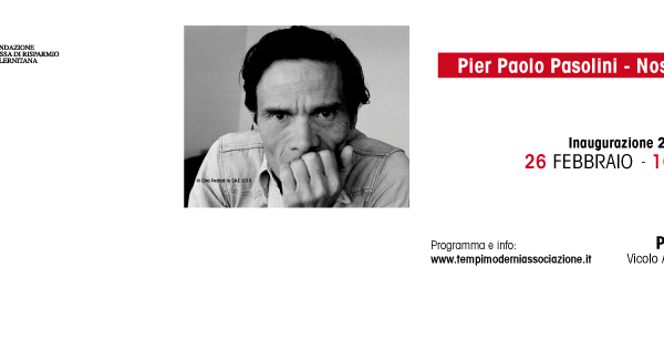 """Inaugurazione della mostra: """"Dino Pedriali (Pier Paolo Pasolini - Nostos: Il ritorno) 1975 - 1999"""""""