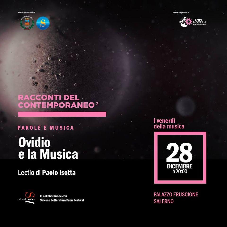 Ovidio e la musica - Lectio di Paolo Isotta