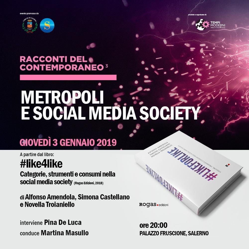 Metropoli e Social Media Society