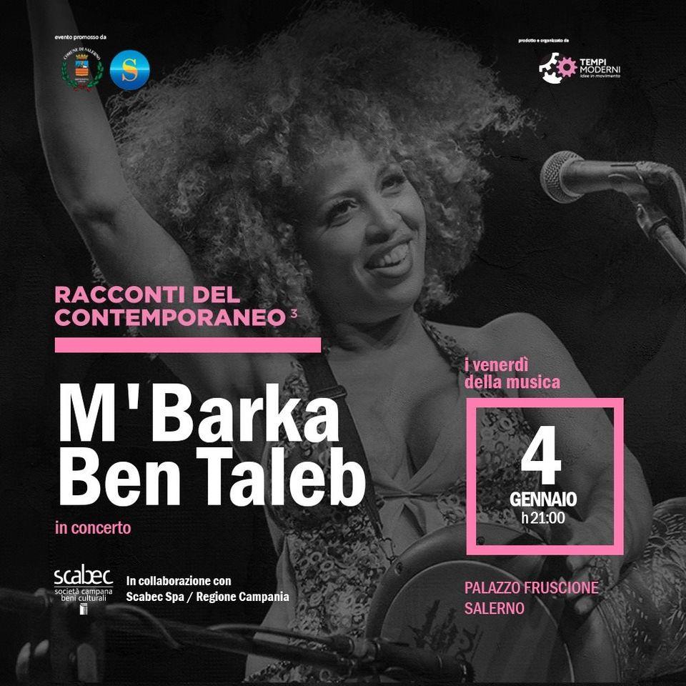 """""""I venerdì della musica"""" il sound multietnico di M'Barka Ben Taleb"""
