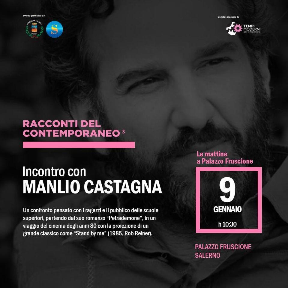 Manlio Castagna dialogherà con i ragazzi del Liceo Classico Tasso