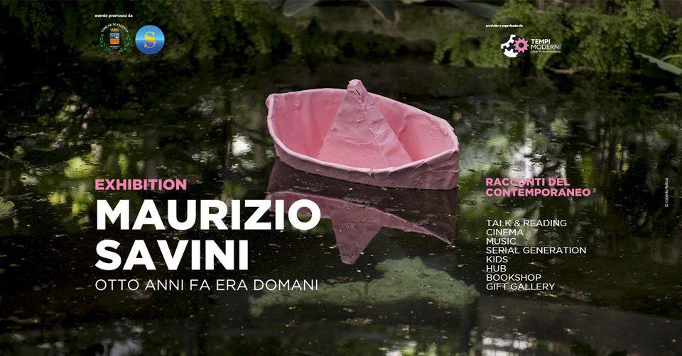 Opening mostra Maurizio Savini