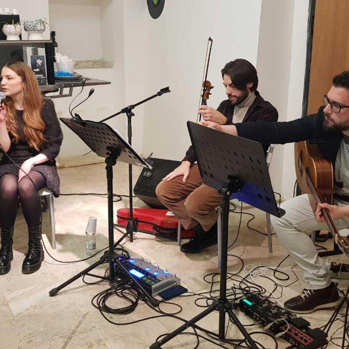 Aperi-Concert con Domenico Ingenito, Davide Palmentiero e Brunella Iannece
