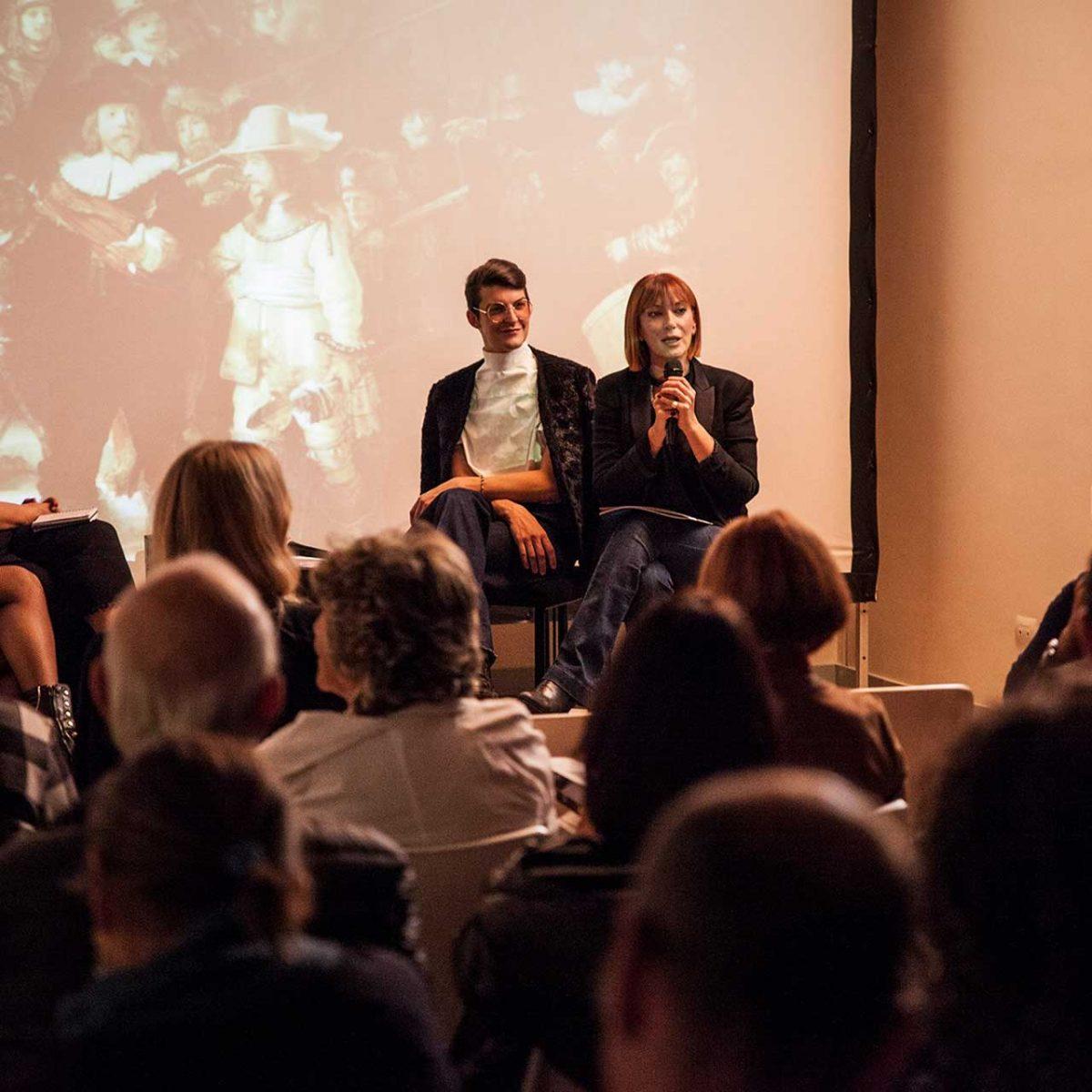 Arte e Moda. incontro con Alberto Audenino - con Carola Barbato, Barbara Cangiano e Fiorella Loffredo