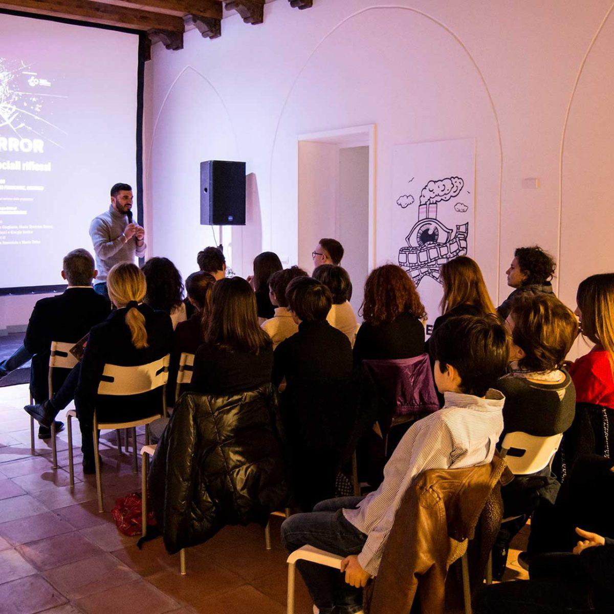 Black Mirror e i mondi sociali riflessi - con Alfonso Amendola e Luca Lanzetta - Foto © Govanna Landi