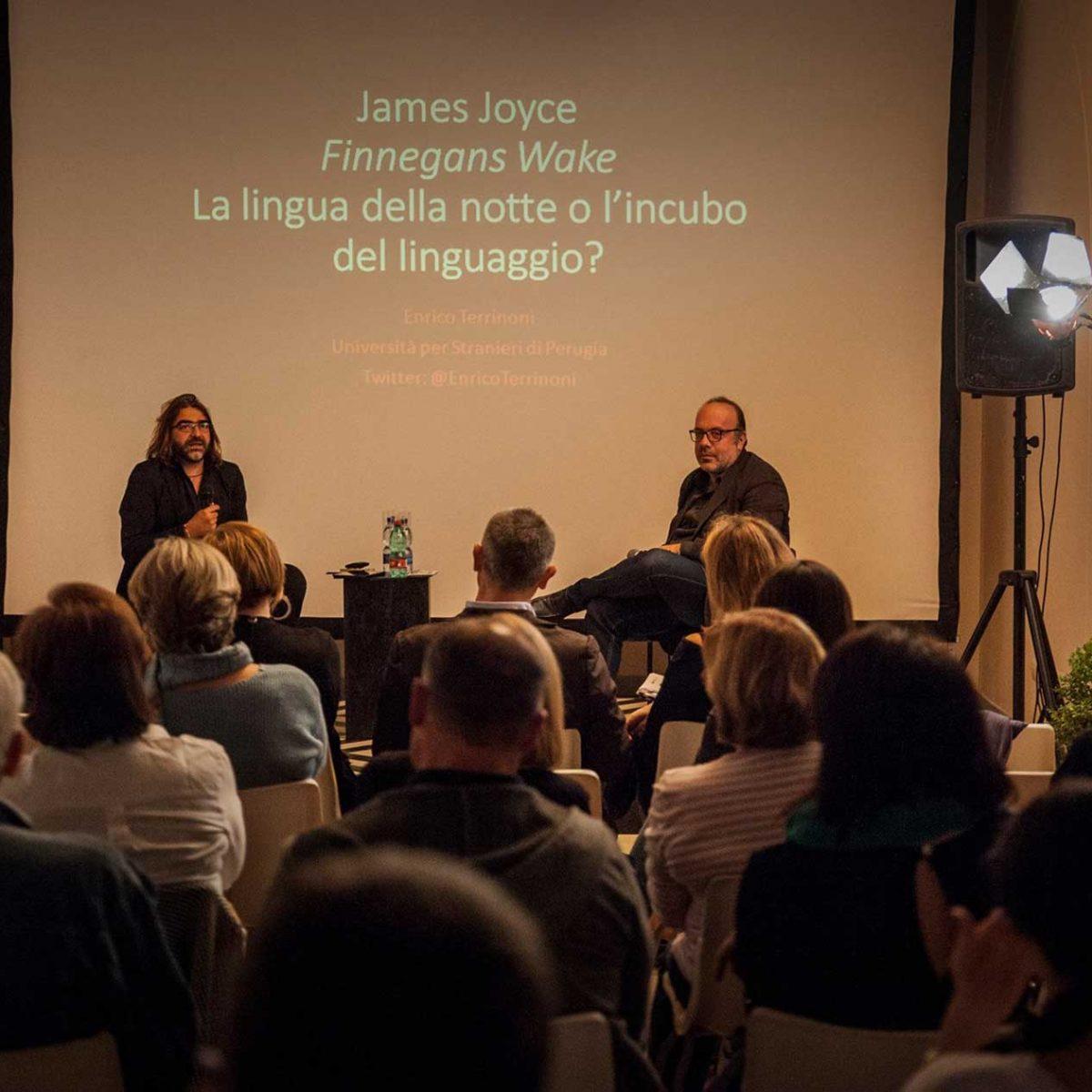 "Enrico Terrinoni - ""Il Finnegans Wake di James Joyce"", introduce Linda Barone"