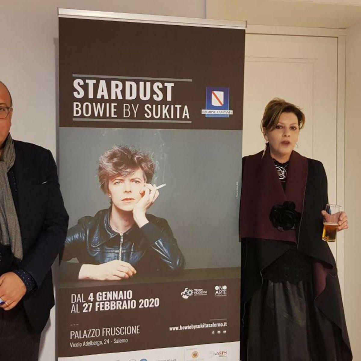 Far Above The World, David Bowie, con Alfonso Amendola, Linda Barone e Concita De Luca