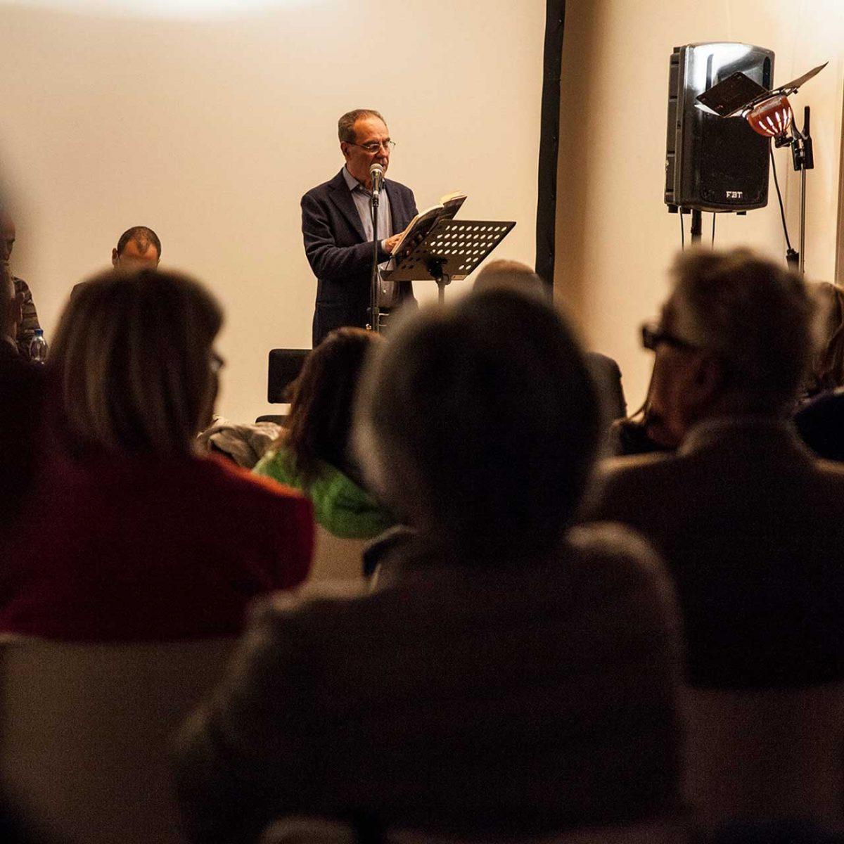 """""""I 20 di Auschwitz"""" di Guido Caserza (Oedipus), introduce Francesco G. Forte, con Angelo Petrella e Attilio Bonadies"""