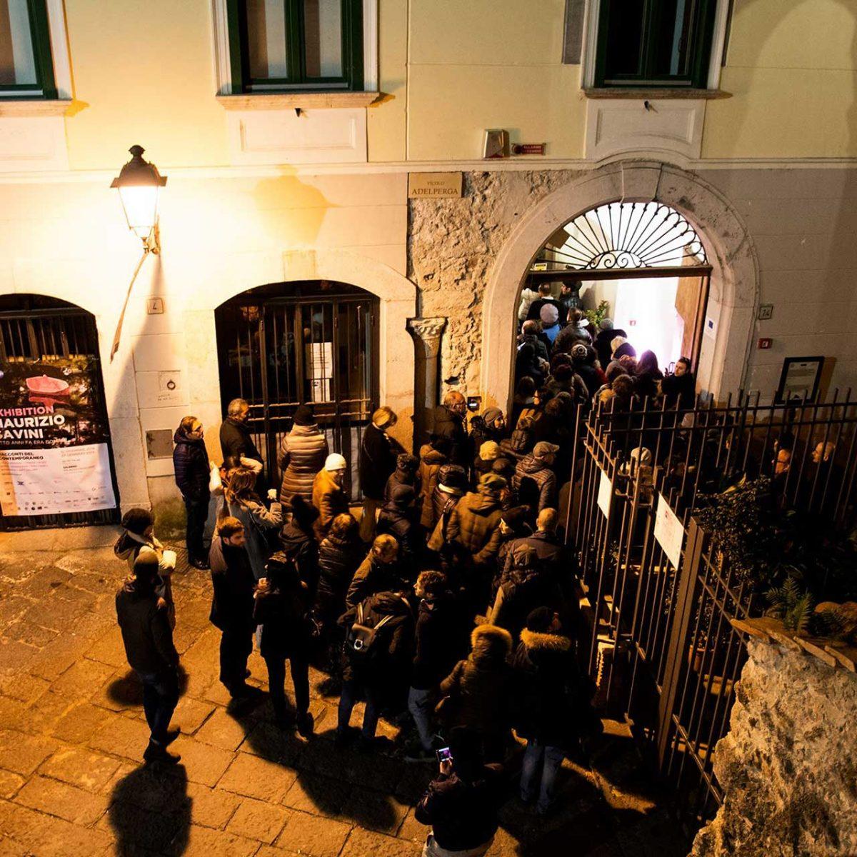 """Inaugurazione mostra """"Otto anni fa era domani"""" di Maurizio Savini - Foto © Govanna Landi"""