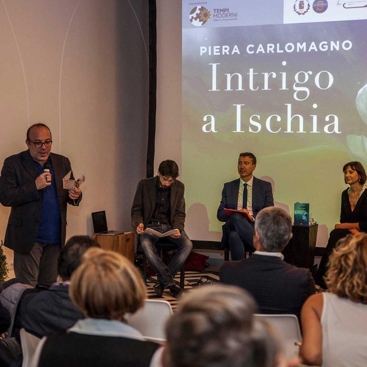 """Intrigo a Ischia"" di Piera Carlomagno con Elio Goka, Paolo Romano, Valerio Elia"