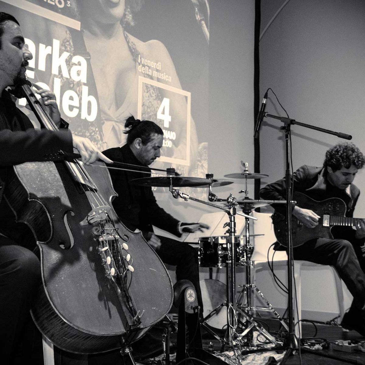 M'Barka Ben Taleb in concerto - Foto © Govanna Landi