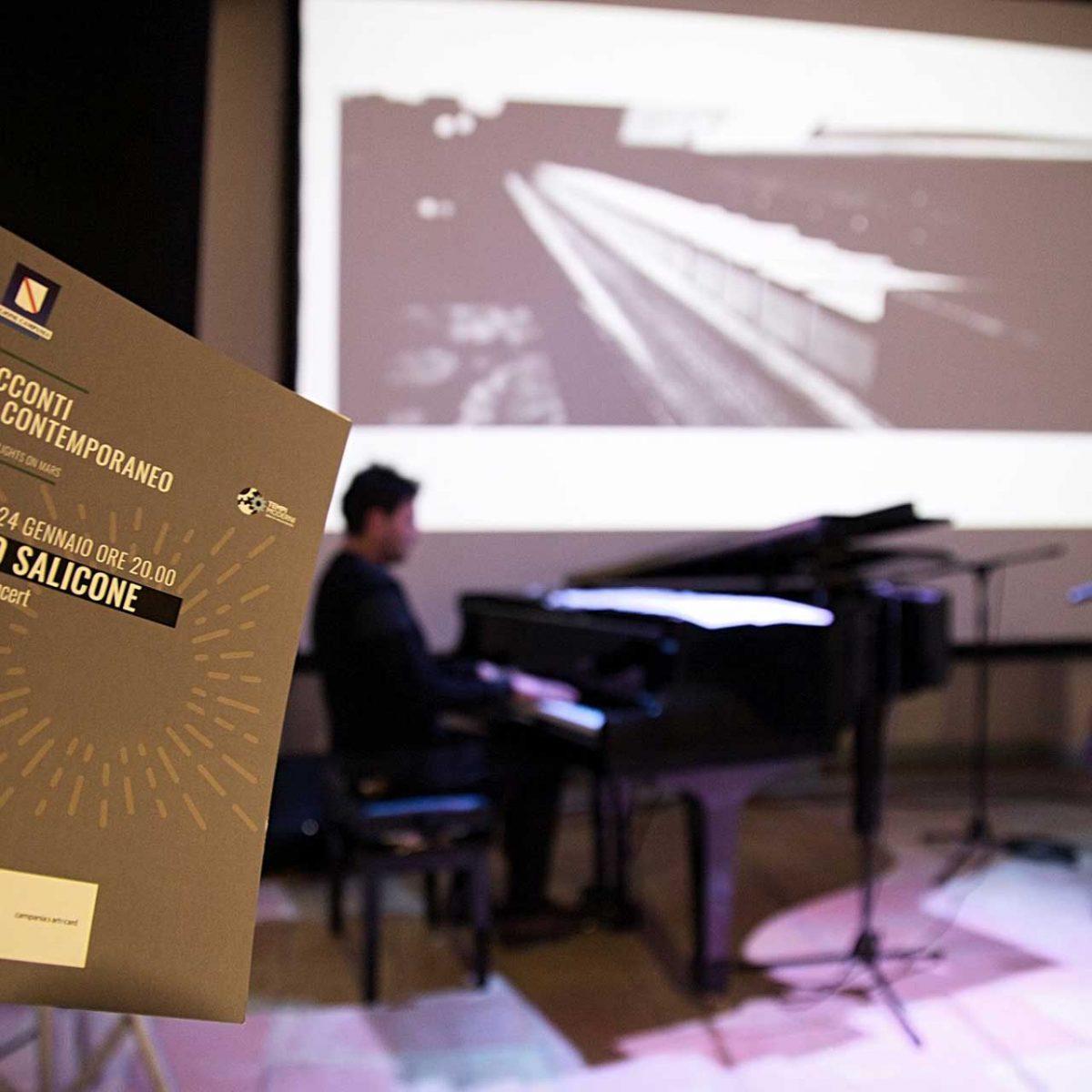 Bruno Salicone - Piano Solo Concert - Ospite speciale Giusi Mitrano