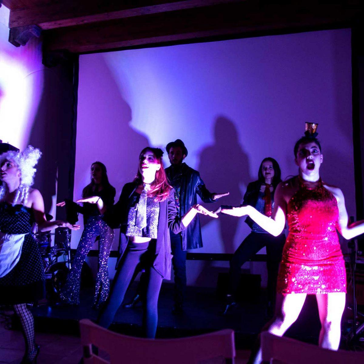 """""""The Rocky Horror Picture Show"""" con performance di The LAAvers e con Simona Fredella, Mario Perna e Fuzz Bohemians - Foto © Govanna Landi"""