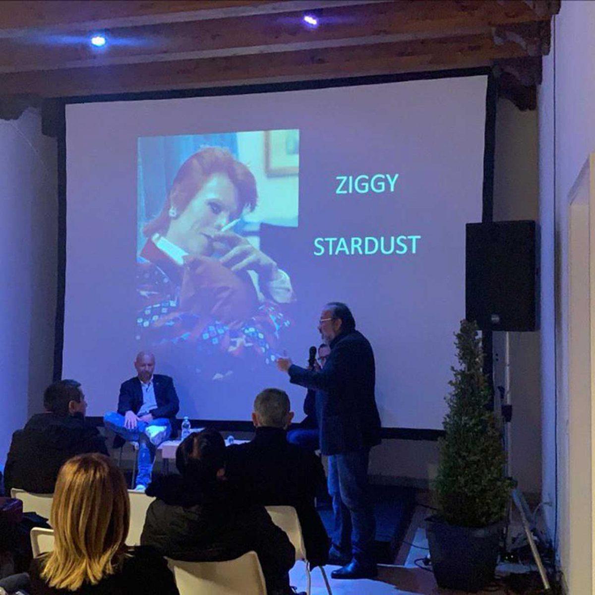 """Ziggy Stardust, il Semidio Bisessuale"""", Enrico Ariemma e Stefano Amendola"""