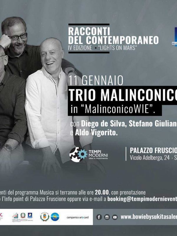 Cover 11 gennaio 2020 Trio Malinconico