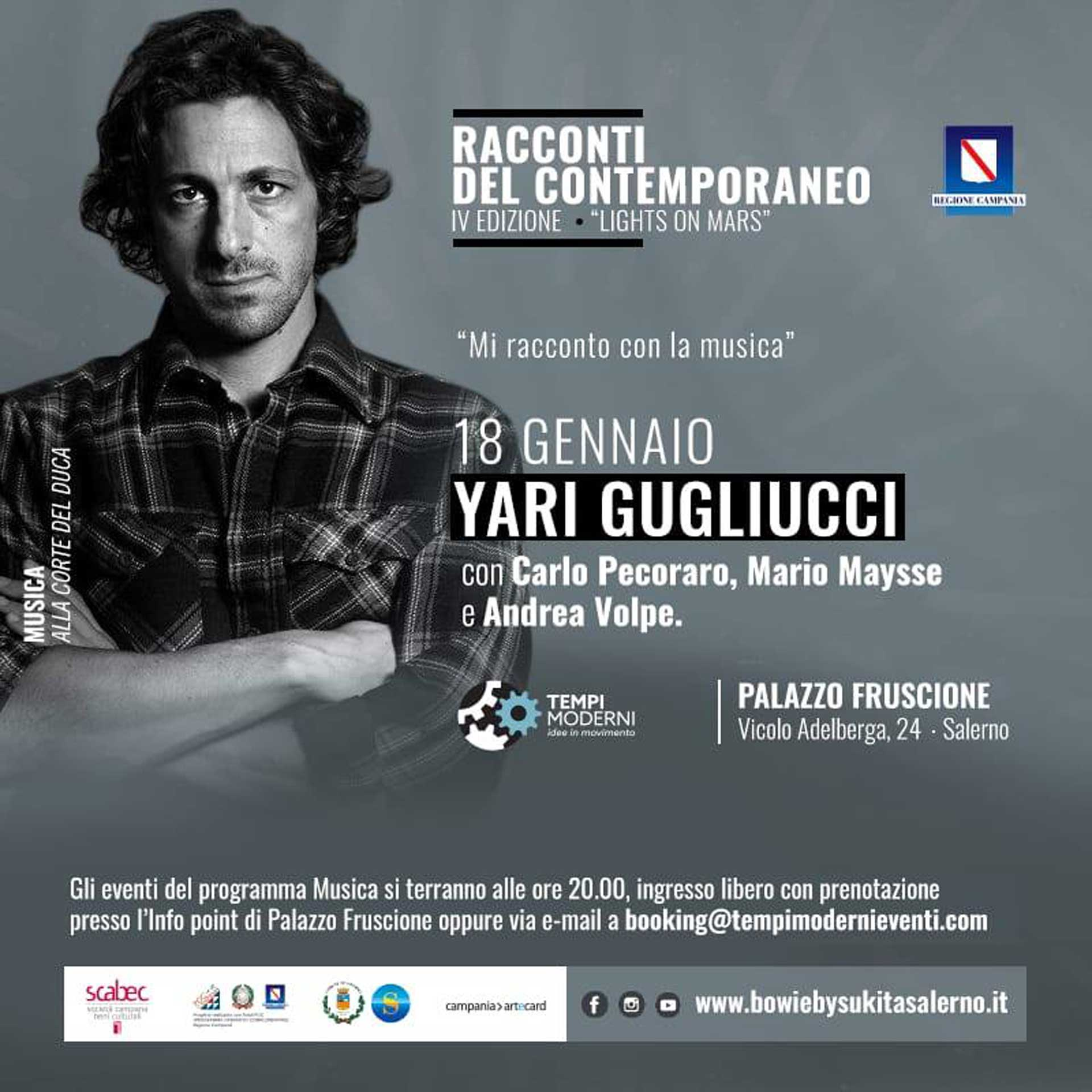 Cover 18 gennaio 2020 Yari Gugliucci