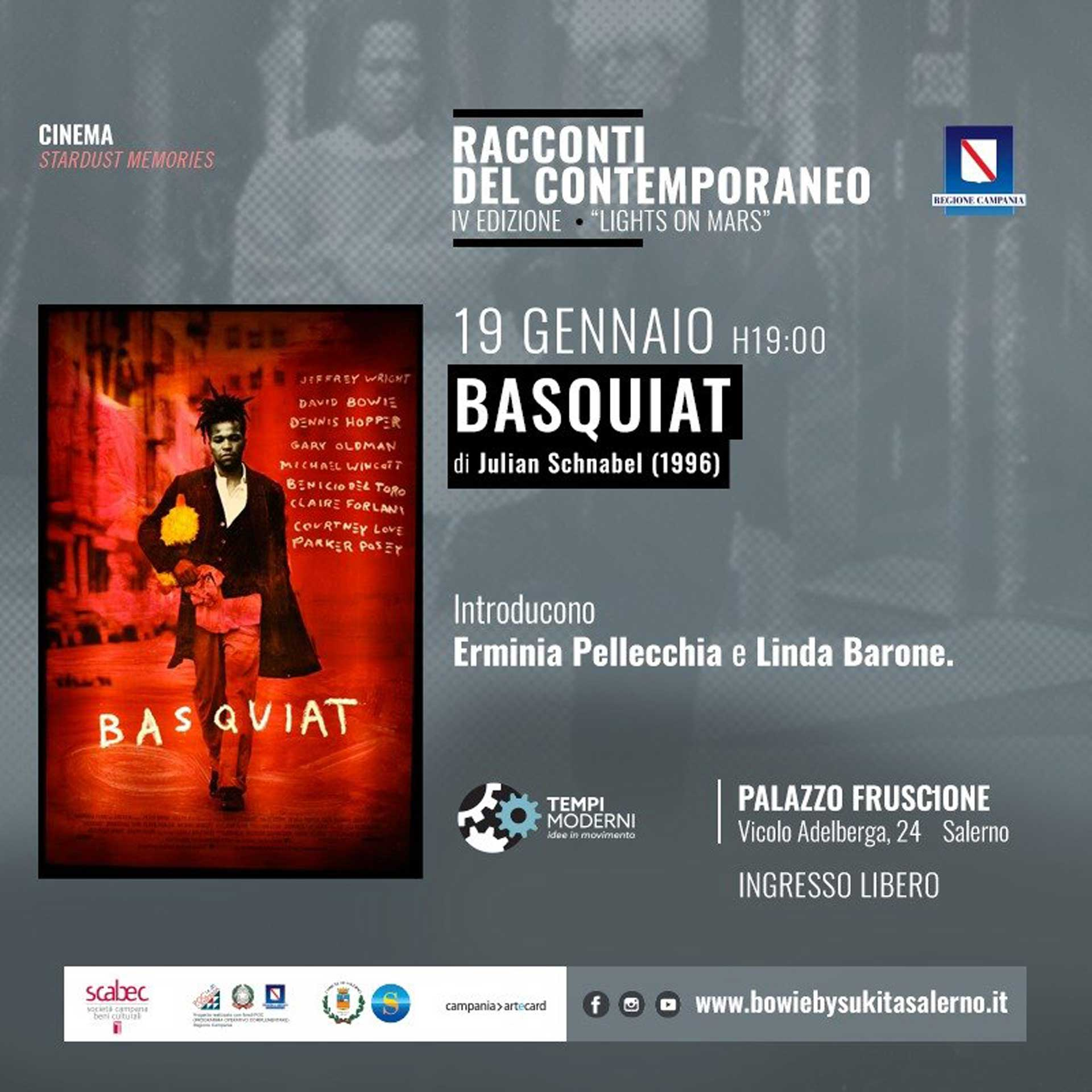 Cover 18 Gennaio 2020 Basquiat