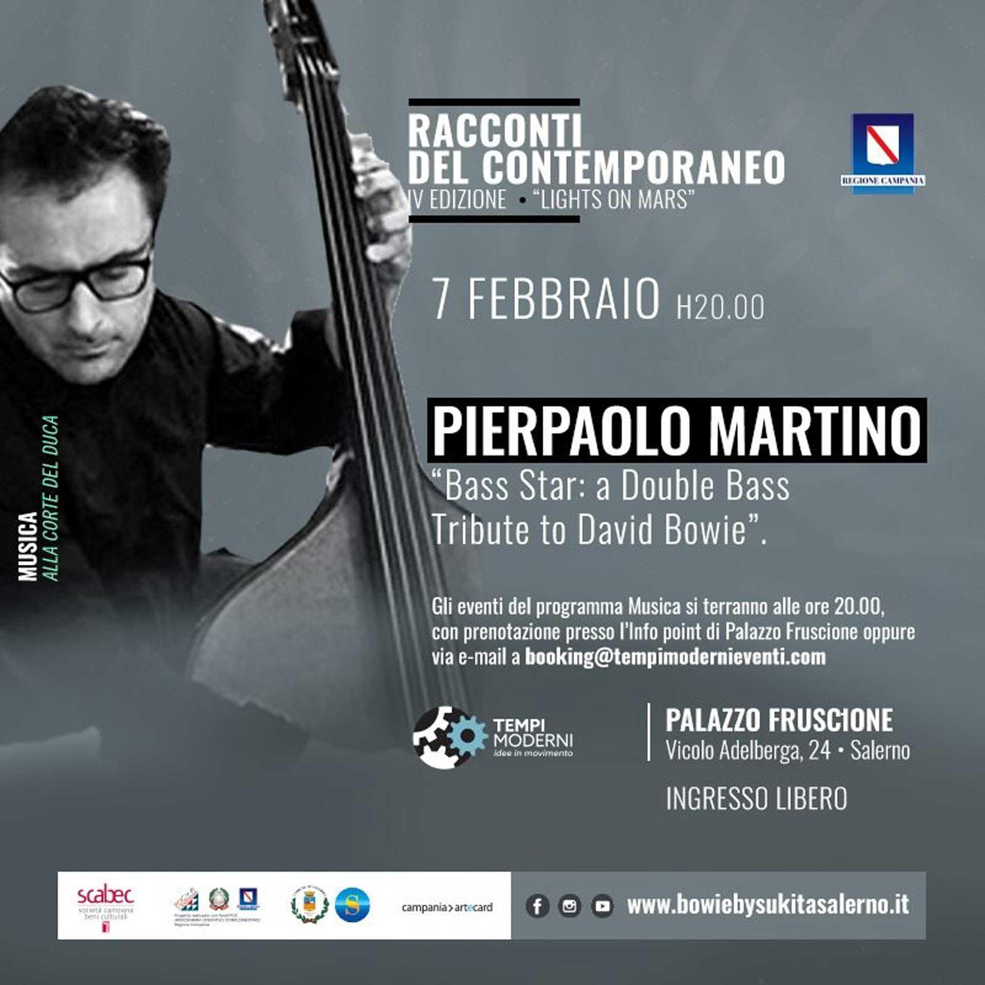 Cover 7 febbraio 2020 Pierpaolo Martino