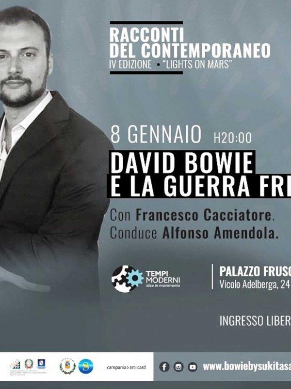 Cover 8 gennaio 2020 Francesco Cacciatore