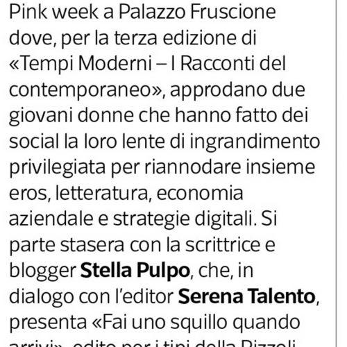 Corriere del Mezzogiorno 2018-2019