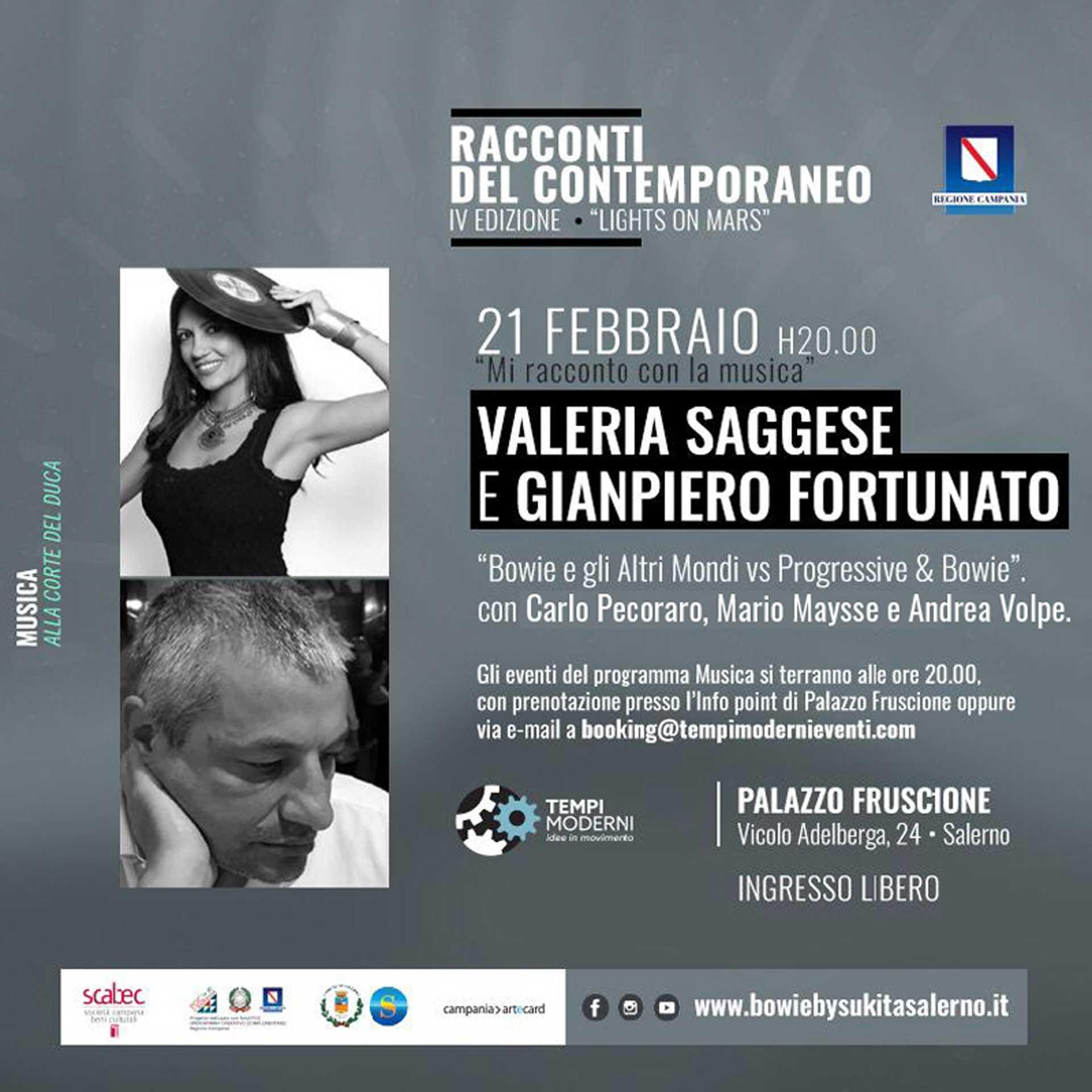 Cover 21 Febbraio 2020 Valeria Saggese e Gianpiero Fortunato