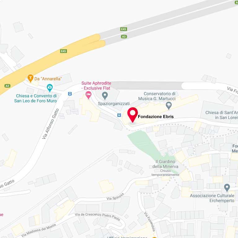 Maps Fondazione EBRIS, Salerno