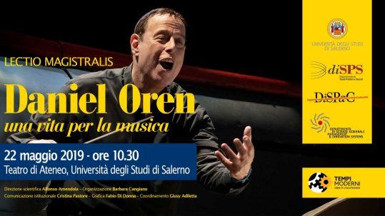 Cover Lectio Magistralis Daniel Oren