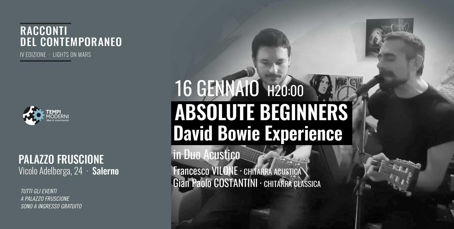 Cover concerto 16 gennaio 2020 Vilone e Costantini