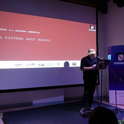 21 luglio 2021: IL SISTEMA ANDY WARHOL, Lectio con Alfonso Amendola