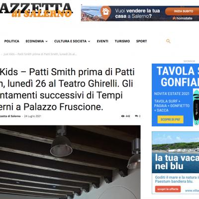 Gazzetta di Salerno 24/07/2021
