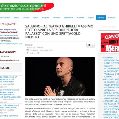 nformazione Campania 20/07/2021