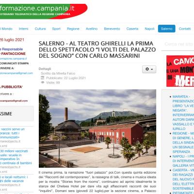 nformazione Campania 22/07/2021
