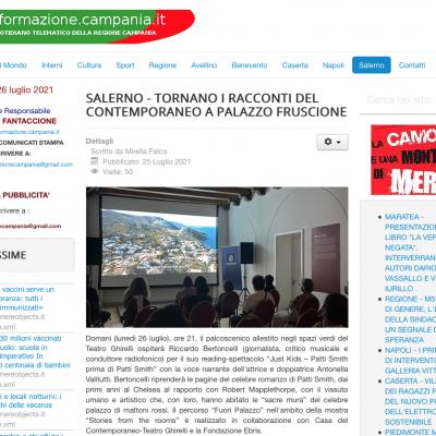 Informazione Campania 25/07/2021
