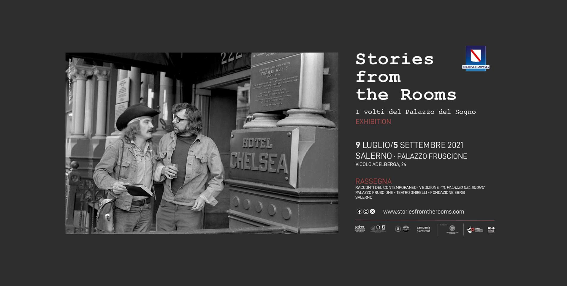 Manifesto V edizione Stories from the rooms