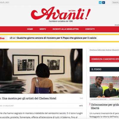 Articolo Avanti Online del 12/07/2021