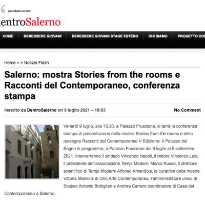 Dentro Salerno del 09/07/2021