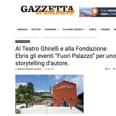 Gazzetta di Salerno del 13/07/2021