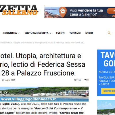 Gazzetta di Salerno 27/07/2021