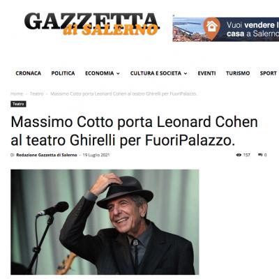 Gazzetta di Salerno del 19/07/2021