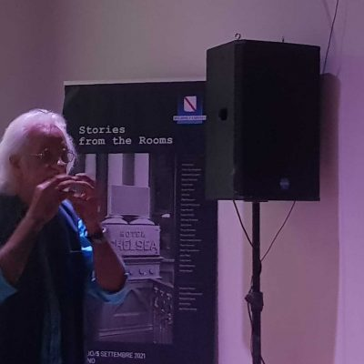 26/08/2021 Cinema L'AMICO AMERICANO, con Michelle Grillo e Pino Sondelli