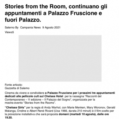 Campania News 09/08/2021