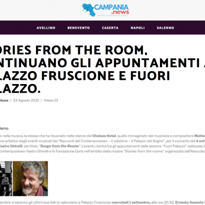 Campania News 23/08/2021