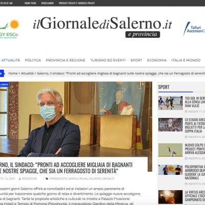 Il Giornale di Salerno 12/08/2021