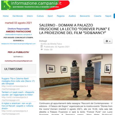 Informazione Campania 02/08/2021