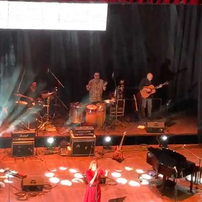 I momenti del concerto Song from the Rooms al Teatro Verdi il 04/09/2021