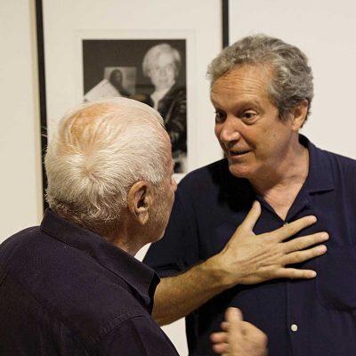 Achille Bonito Oliva ed Ernesto Assante