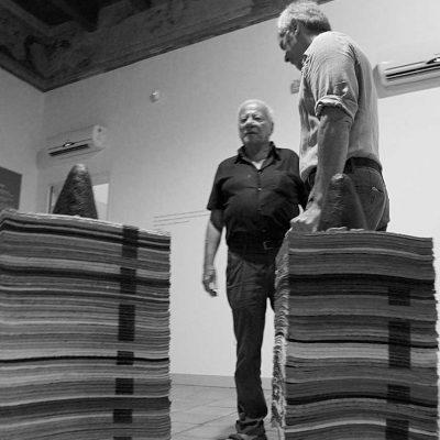 Achille Bonito Oliva e Marco Russo