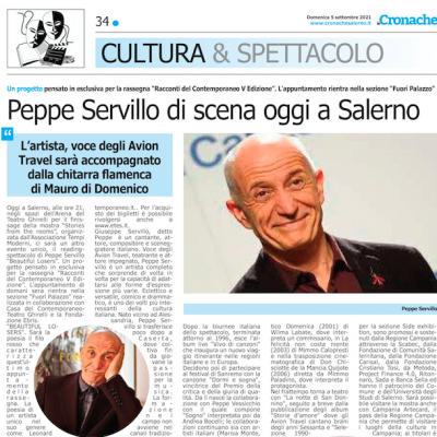 Cronache Salerno 05/09/2021