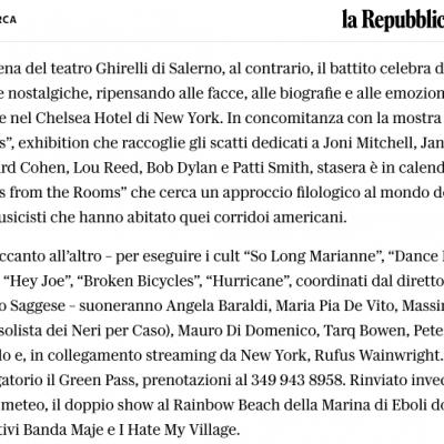 La Repubblica Napoli 04/09/2021